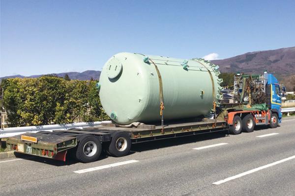 特殊車両重量物輸送事業